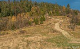 Zapolanka - żółty szlak z Hali Redykalnej do Rajczy