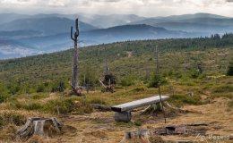 Widok spod Baraniej Góry na południe