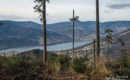 Okolice Przełęczy Cisowej - Jezioro Międzybrodzkie