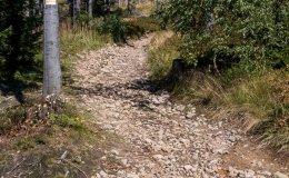 Żółty szlak na Gawlasi