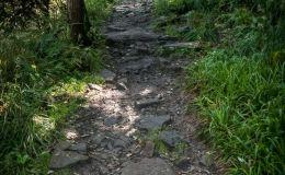 Czerwony szlak z Ostravicy na Smrek