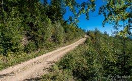 Szlak rowerowy z Węgierskiej Górki do Kamesznicy