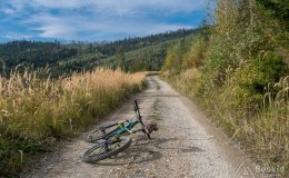 Na szlaku rowerowym ponad Kamesznicą