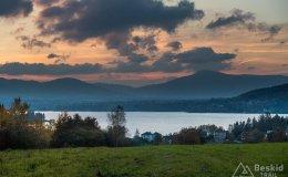 Jezioro Żywieckie z Oczkowa