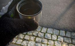 Ciepła herbatka po chłodnym dniu na rowerze - jak znalazł :)