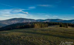 Na niebieskim szlaku z Hali Boraczej na Prusów