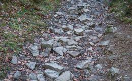 Czarny szlak z Kotarnicy do Sopotni Wielkiej