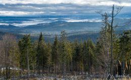 Widok spod Hali Lipowskiej na południe