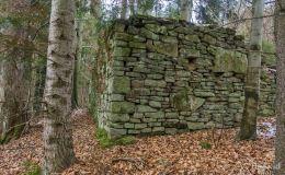 Ruiny szałasu pod Przykrzycą