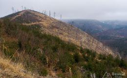 Szutrówka z Rycerki dol.  Rycerek pod niebieski szlak na Bendoszkę Wielką