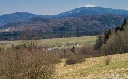 Babia Góra znad Przełęczy u Poloka