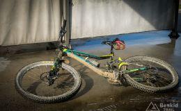 Brudny rower - szczęśliwy rower ;)