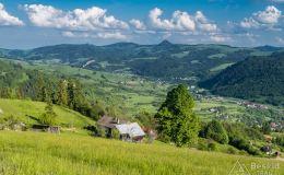 Czarny szlak z Bereśnika do doliny Szczawnicy-Kunie